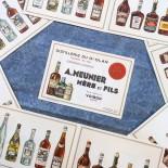 dépliant publicité papier ancienne distillerie 1920 meunier gd olan voiron vintage