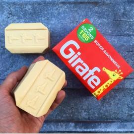 box pack of 2 soaps soap vintage antique 1950 1960 la girafe 300grs 300 grams