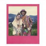 pellicule polaroid film impossible project 600 couleurs bord arc en ciel coloré