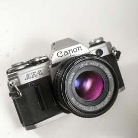 canon ae1 50mm fd 1.8 reflex