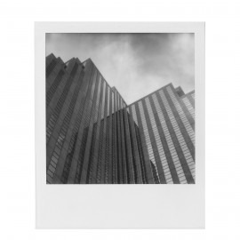 pellicule polaroid originals film SX70 impossible project noir et blanc 1000 bord blanc