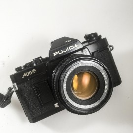 Fujica ax-5 fujinon 50mm 1.9 reflex