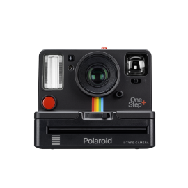 polaroid originals one step plus bluetooth instant camera vintage black graphite pola