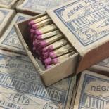 sulfur matches vintage 1940 1930 bar antique