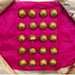 military button 20mm uniform french army militaria gold golden parade map lyon