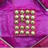 bouton militaire ancien vintage or doré 15mm 1900 parade armée m h cie paris