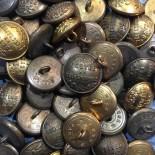 bouton ancien postes et telegraphes télégraphes poste 1900 XIXème 23mm