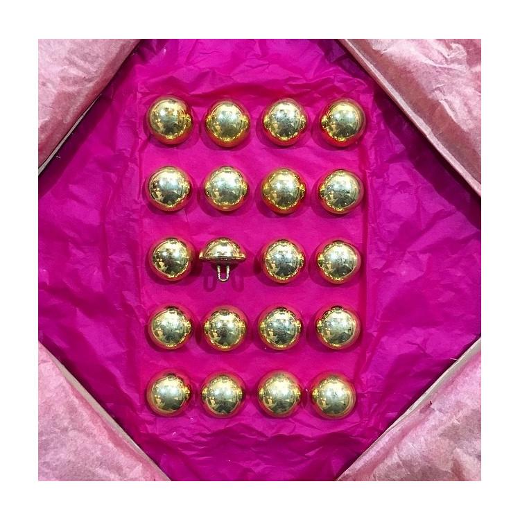bouton militaire ancien  vintage doré 20mm 1900 parade armée maurice bourdon