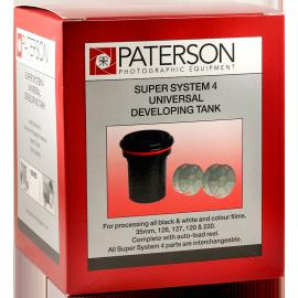 paterson cuve tank 2 spires développement film couleur noir et blanc 120 135 35mm 126 127 220 620
