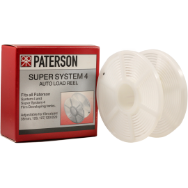 paterson reel tank developing film negative black and white color 120 126 127 220 620 35mm 135