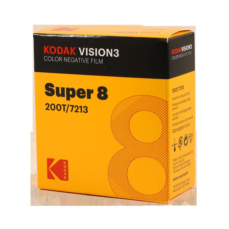 Kodak vison 3 super 8 film 200 T 7213 pellicule caméra