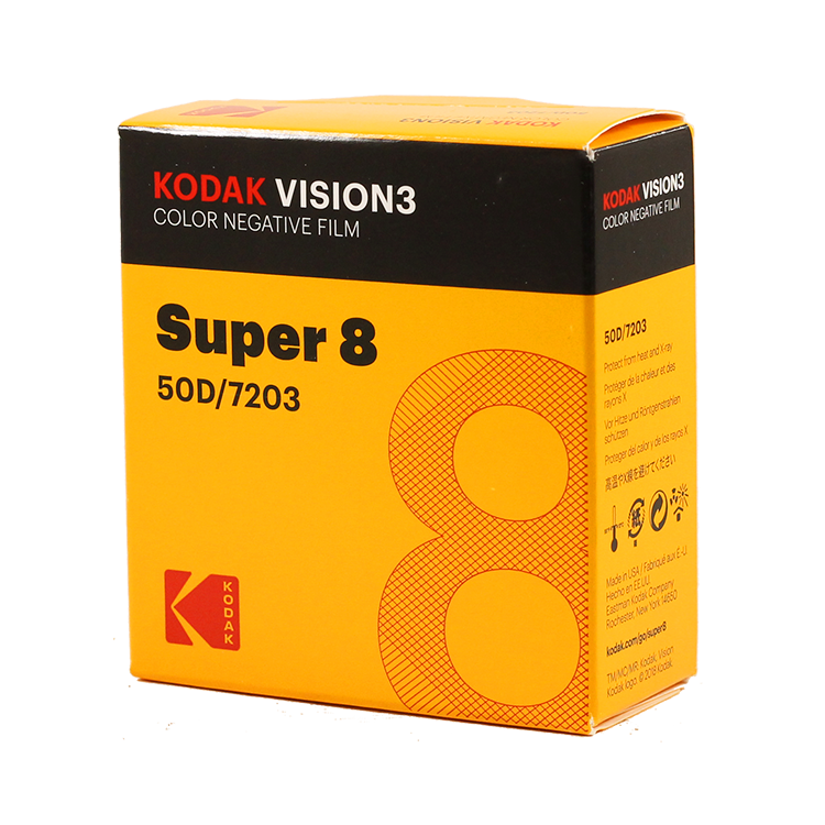 kodak vision 3 50D 7203 film pellicule caméra ancienne vintage cinéma
