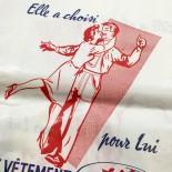 sachet mercerie au fusil ancien vintage utile  papier 1960