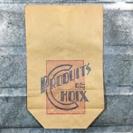 sachet papier petit épicerie produits de choix commerce 1950