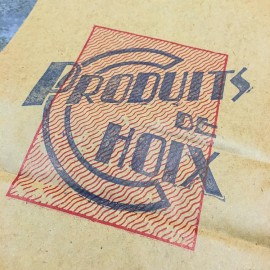 grocery paper vintage wrapping 1950
