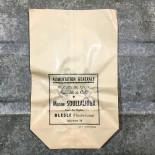 petit sachet en papier ancien ajouré pharmacie maison soullalioux vintage 1960