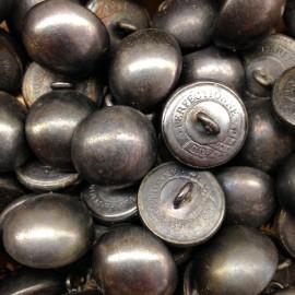 tin button military french army napoleon 1830 1850 militaria antique 19mm perfectionne