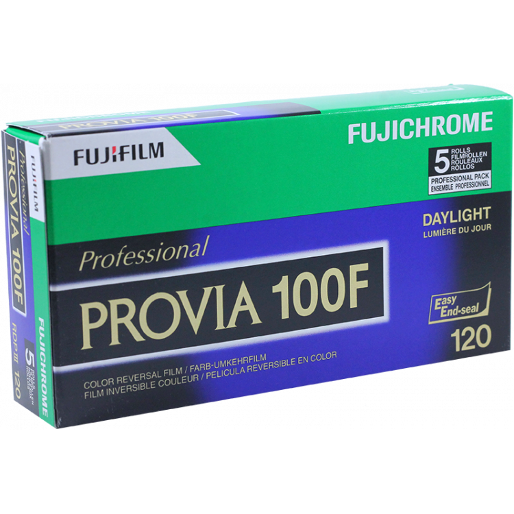 provia 100f fujichrome fuji fujifilm 100 slide film medium format color diapo 120 film