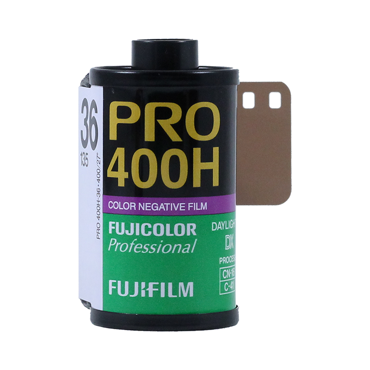 fujifilm fuji pro 400H 400 iso color negative skin tone 35mm 135 36 exposures analog film