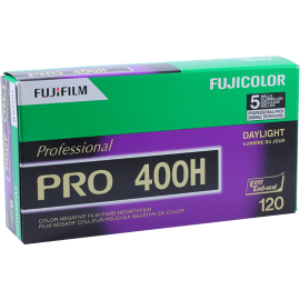 pac 5 pro 400h fujichrome fuji fujifilm 100 negative film medium format color 120