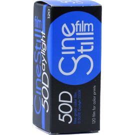 cinestill film daylight 50 color low speed film 120 medium format outside