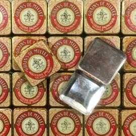 petite boite métal ancien vintage réglisse réglisserie pharmacie 1920