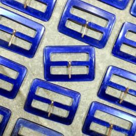 blue clasp plastic belt antique vintage haberdashery 1960