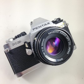 pentax mg argentique 50mm f2 reflex compact 35mm