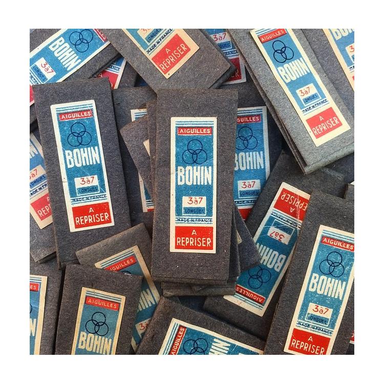 bohin needles knitting knitter 1960 vintage