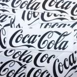 sticker ancien coca-cola vintage ancien 1980 frigo glacière ancienne présentoir transparent
