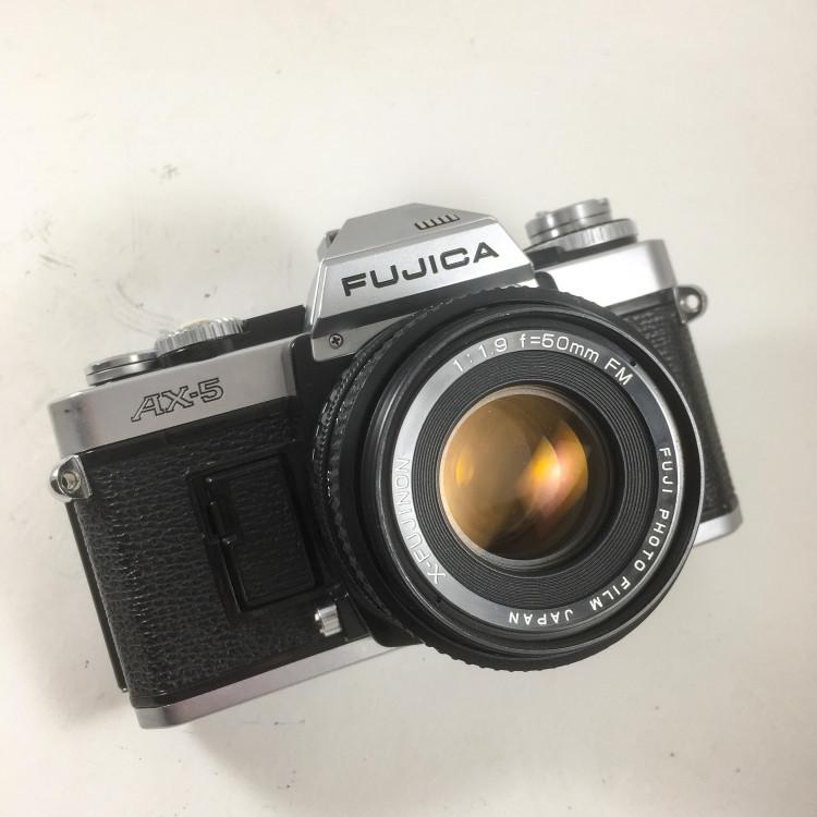 fujica ax5 ax-5 reflex argentique camera 50mm 1.9