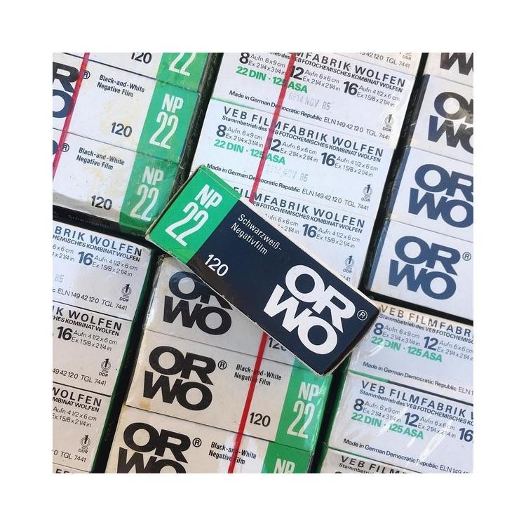 expired film vintage analog 1985 orwo NP22 black and white 125 ISO
