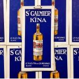 carton publicitaire ancien  st galmier quinquina kina 1930 bistrot bar ravel frères codec