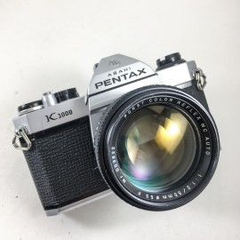 pentax k1000 porst color 55mm 1.2 reflex argentique 35mm 135