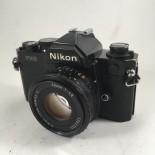 Nikon Fm2 noir 50mm boitier 24x36 argentique