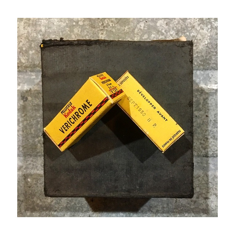 Expired film analog photography old 1950 Kodak verichrome v 129
