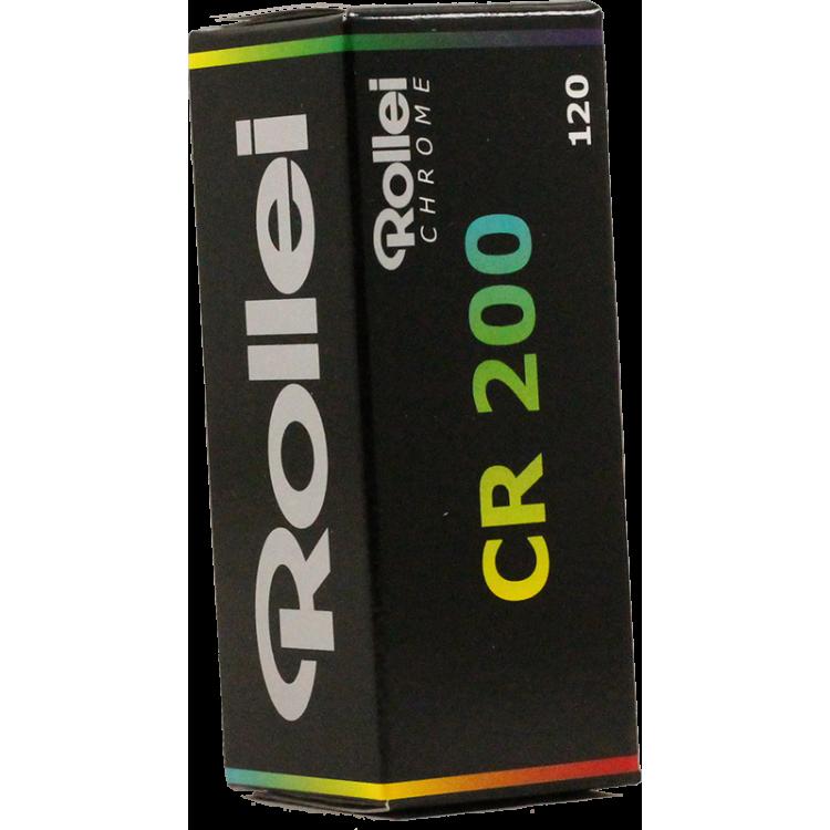 rollei cr200 cr 200 argentique couleur film 120 moyen format pellicule diapo e6