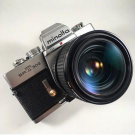 minolta srt 303 ancien appareil argentique vintage 24 36 35mm