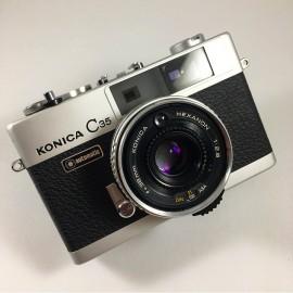 Konica C35 Hexanon 38mm 2.8 compact télémètre