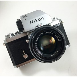 nikon f apollo 1968 photomic ancien nikkor 50mm 1.4 reflex argentique vintage