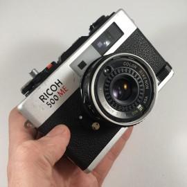 ricoh 500 me 500me compact télémétrique télémètre surrexposition ancien appareil argentique 35mm
