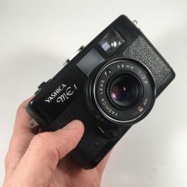 yashica ME1 petit 38mm 2.8 compact ancien appareil argentique 35mm