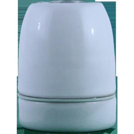 douille e27 électrique porcelaine blanche