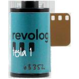 revolog tesla 1éclair 200 iso film couleur pellicule avec effet vintage lomo 36 poses éclair bleu