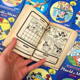 placid et muzo ancien vintage exemplaire 1980 1985 français bd bande dessinée