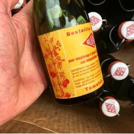 bouteille ancienne bulach purée de tomates tomate ancien stock 1950 1960 vintage