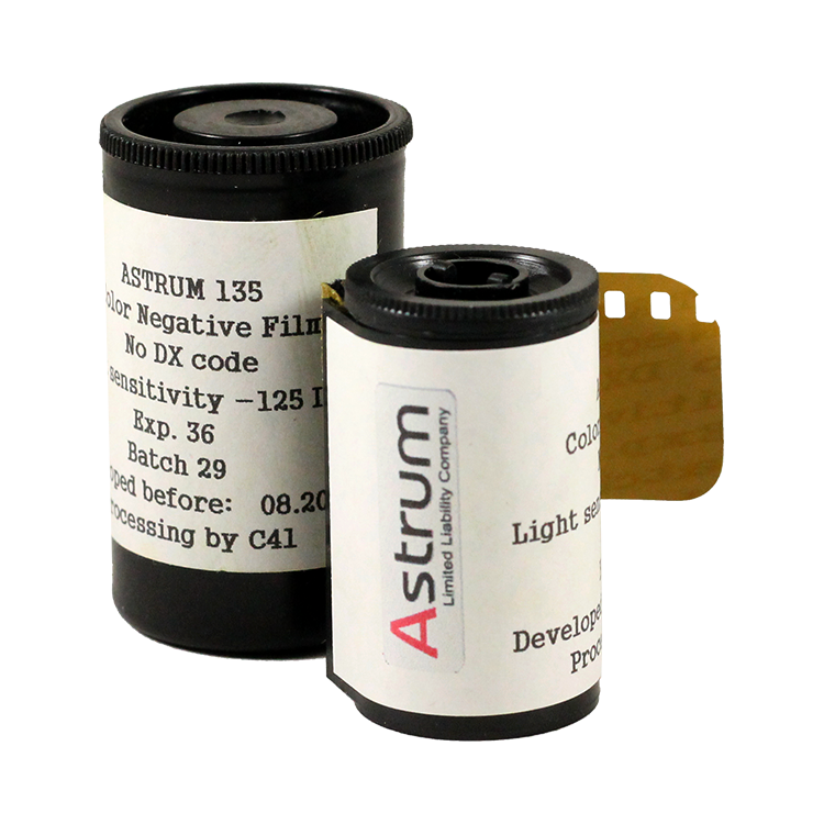 svema astrum ltd foto film photo color 125 iso negative analog