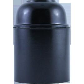 douille en bakélite noire e27