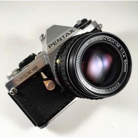 appareil pentax me super 35mm 50mm 1.4 1980 automatique auto argentique reflex