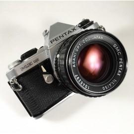 appareil pentax me super 35mm smc 50mm 1.4 1980 automatique auto argentique reflex